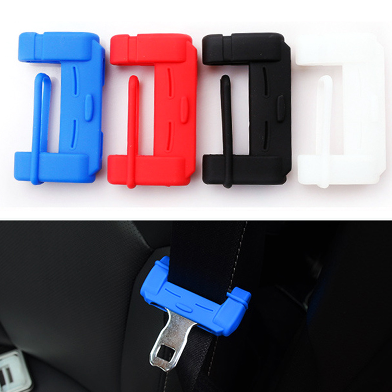 Car Safety Belt Buckle Covers Accessories Sticker For BMW E46 E39 E90 E60 E36 F30 F10 E34 X5 E53 E30 F20 E92 E87 M3 M4 M5 X5 X6 image