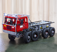 Лепин 23012 метод MOC серии 2839 шт. Аракава эвакуатор Tatra модель автомобиля игрушка строительные блоки с 5 двигателей и 1 загрузочной коробки