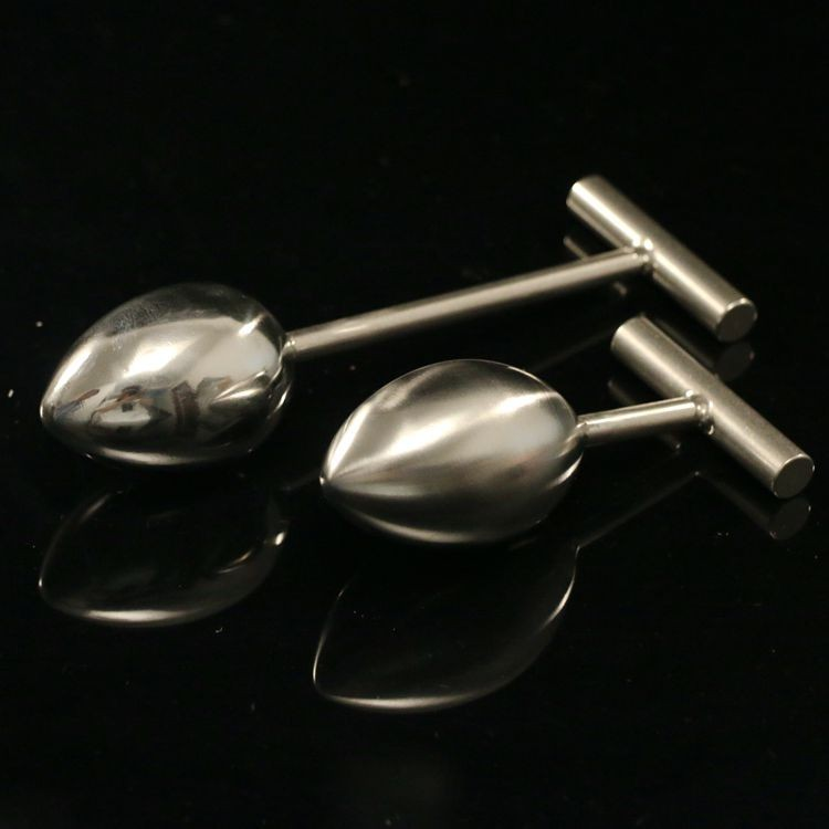 Heavy Stainless Steel metal anal toys Anal balls butt Plug,Anus Beads pump,110*40mm size anal stimulator anal dildo toys for men 140g stainless steel anal hooks metal butt plug with 2 balls gay sex toys adult products for men and women massage