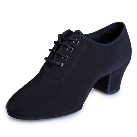 Sports Shoes Canvas Latin Dance Shoes Woman Adult Modern Ballroom Dance Shoes Teacher Shoes Oxford With Two Points Sneakers Pakistan
