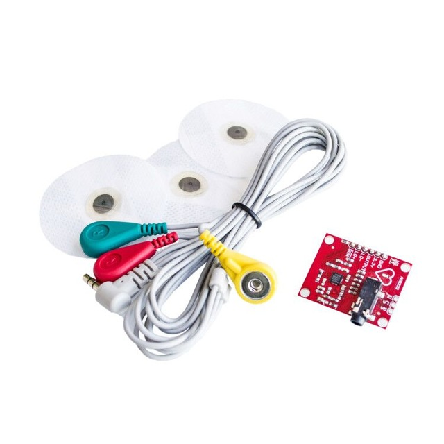 <font><b>Ecg</b></font> Module <font><b>AD8232</b></font> <font><b>Ecg</b></font> Measurement Pulse Heart Monitoring <font><b>Sensor</b></font> Module Kit Bioelectric Signal Acquisition Development Kit toy image