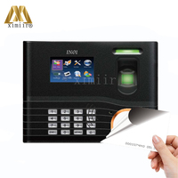 Biometric Fingerprint Access Control TCP/IP Door Access Control With 125KHz RFID Card Reader ZK IN01 Fingerprint Time Attendance