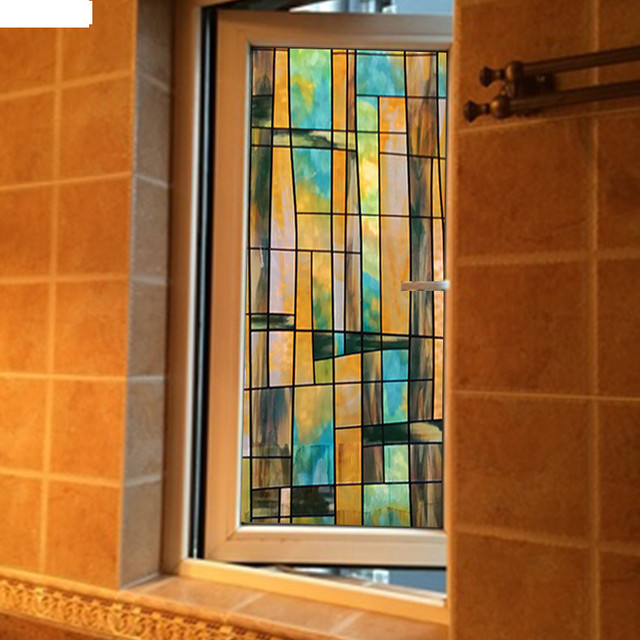60x100cm window stickers stained glass sliding door stickers 60x100cm window stickers stained glass sliding door stickers bathroom window film opaque window paper blackout planetlyrics Gallery