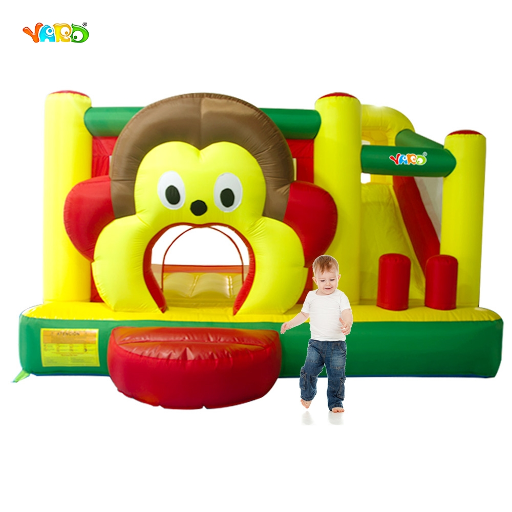 YARD Free Shipping In Stock Cartoon Monkey Inflatable Slide Bouncer Bouncy Castle Jumper Combo Funny Exercise Room For Sale спрей ollin professional step 4 keratine royal treatment