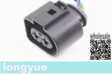 "longyue 2pcs 1J0973752 Heater Blower Motor Fan Wiring Pigtail For 98-05 A6 Plug Connector 1J0 973 752 6"""