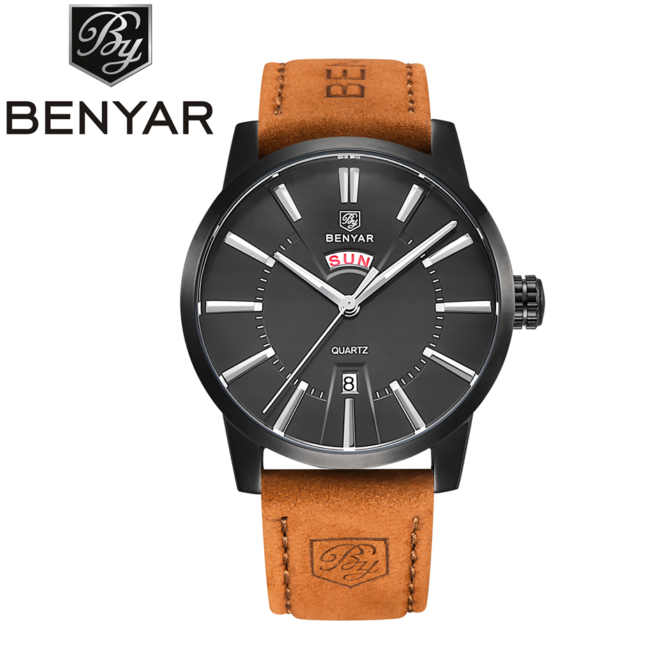 Reloj Hombre Mens Watches Top Brand Luxury Business Quartz Watch Men Casual Clock Man Leather Wristwatch 2017 saat Montre Homme mens watch top luxury brand fashion hollow clock male casual sport wristwatch men pirate skull style quartz watch reloj homber