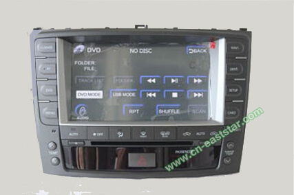 fly audio Car DVD for Lexus IS250 IS300 with gps navigation ...