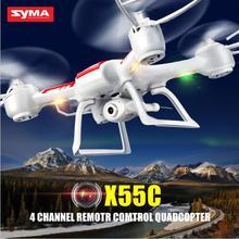 Original Syma X55 X55C X55G 2.4G 4CH  6-Axis GYRO Professional Headless Mode Drone With HD Camera 360 Degree Flip Stunts RC UAV