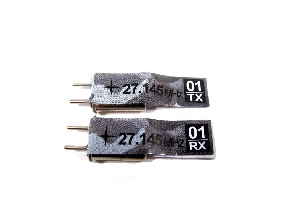 ALL 1 16 1 16 RC TANKS spare parts accessory Heng Long 27Mhz crystals Frequency 01