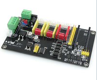 CNC Engraving Electronic Control Panel Three Axis Stepper Motor Drive Controller Motherboard For Laser Engrave Machine