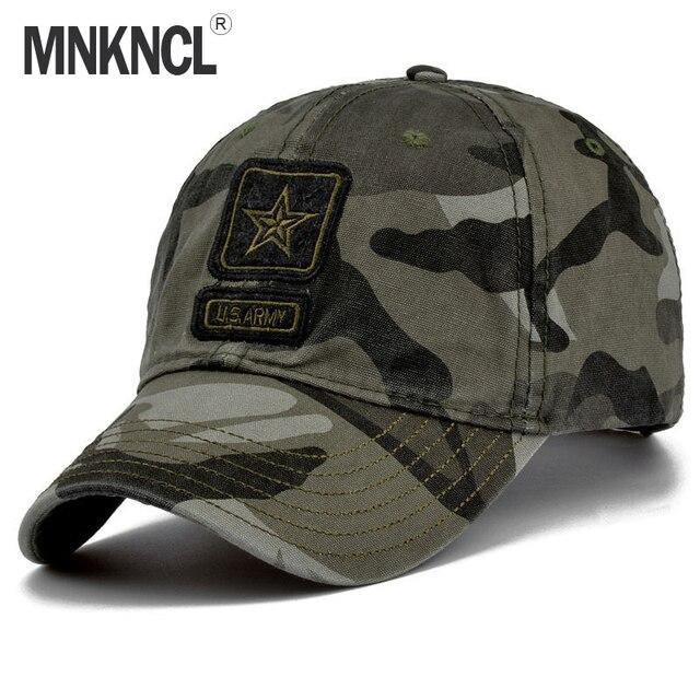 Mnkncl 2018 new men pentagram cap top quality u s army for Fishing baseball caps