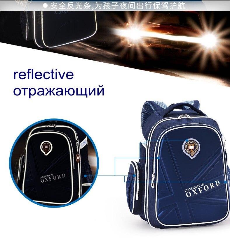Hot Sale University Of Oxford Orthopedic School Bags Children Backpack Portfolio Rucksack For Teenagers Boys Girls #3
