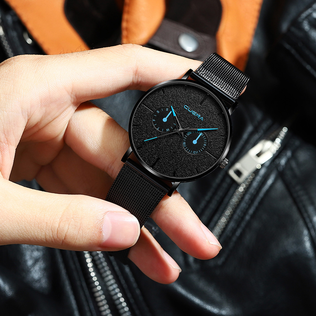 man watch 2019 Luxury Watches Quartz Watch Stainless Steel Dial Casual Bracele skone Watch relogio masculino