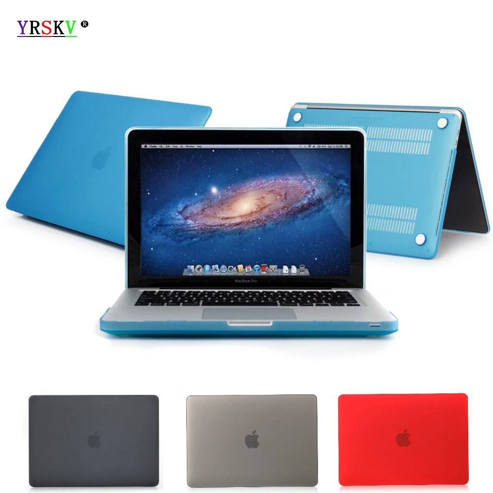 YRSKV Matte Hard Case Cover for Macbook Pro 13 15 With Touch Bar Pro Retina 12 13.3 15.4 inch notebook Air 13 11 Laptop case