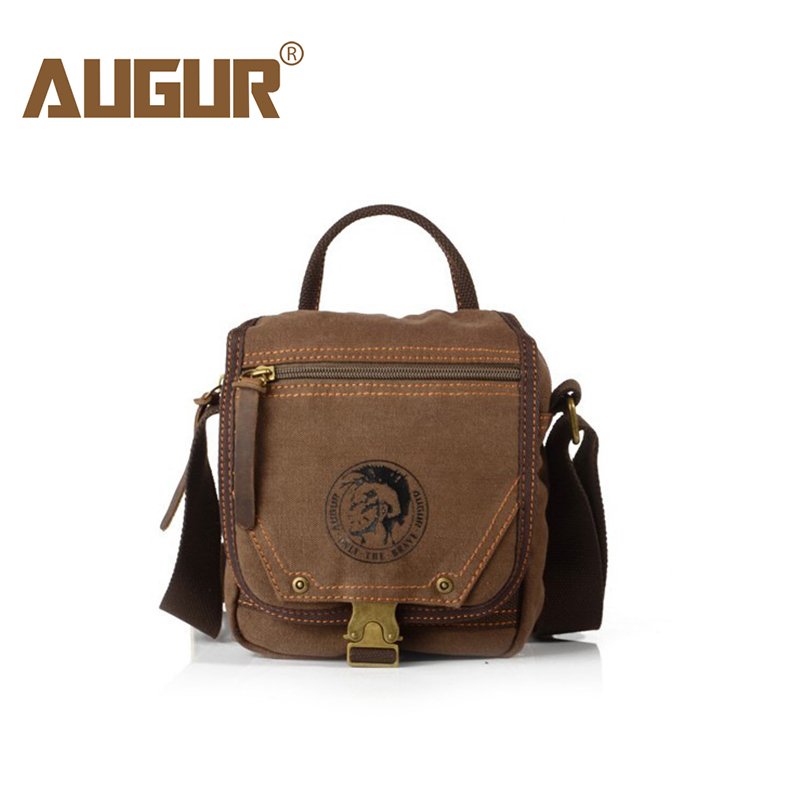 AUGUR Fashion 2018 New Men Shoulder Mini Canvas Messenger Women's Male Handbags Multifunction Small Bag Travel Male Crossbody augur new male small canvas crossbody bag multifunction tool functional bag men shoulder designer messenger travel shoulder bags