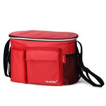 Termiskās izolācijas mamma somas ūdensnecaurlaidīgs Baby autiņbiksīšu soma klaidonis Cooler soma klaidonis bezmaksas piegāde