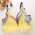 Teenage Underwear Girl Undergarments Kids Bras Children's Small Sports Training Bras Models for Kids Mail Underwear 100% Cotton