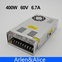 400W 60V 6 6A Single Output Switching Power Supply AC To DC SMPS CNC
