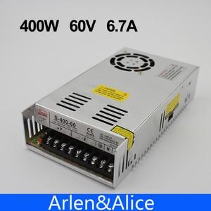 400W 60V 6.7A Single Output Sw