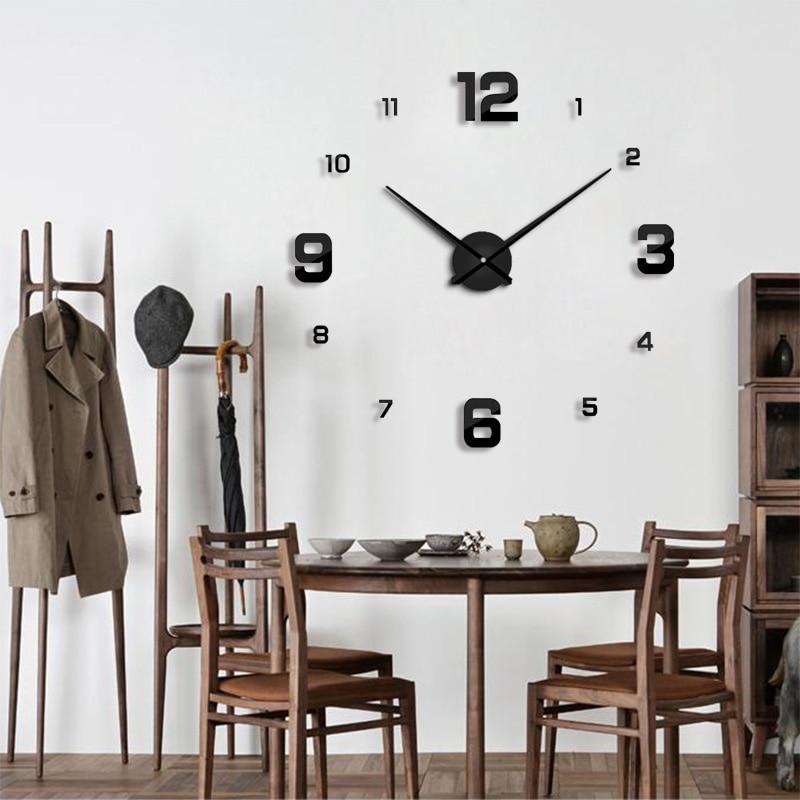 Creativo soggiorno orologio da parete decorazioni per la casa di ...