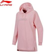 Li-Ning, женские спортивные вязаные свитера-худи, тренд, для фитнеса, удобная подкладка, спортивный свитер AWDN008 WWW962