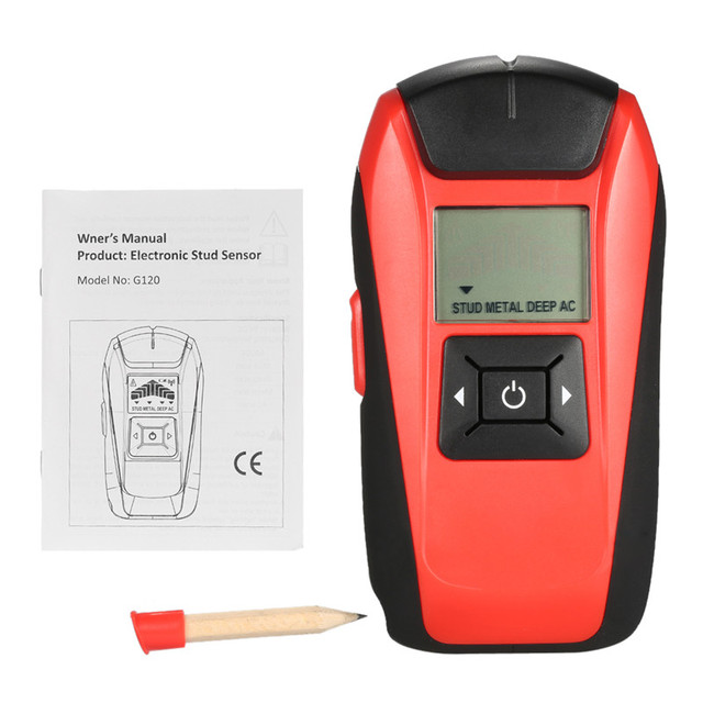metal detector underground Wood Studs AC Cable Live Wire Scanner ...