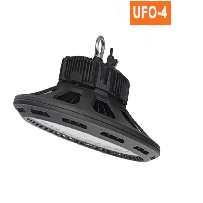 La nouvelle conception UFO-IV lumière led haute baie 200 w 240 w a mené la basse lumière industrielle de baie de led ufo lumineuse superbe 120lm/w DLC CE ROHS FCC 85-265