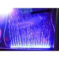 55cm 5.2W 21 LEDs Bubble Aquarium Lighting 120 Degree RGB 15 Colors IP68 Submersible Remote Control Fish Tank LED Lights Bar