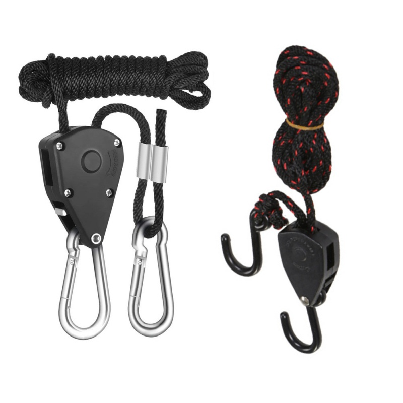 2pcs Outdoor Tent Light Lifting Lanyard Camping Hiking Pulley Rope Ratchet Hanger Tent Tools EDC Survival Equipment2pcs Outdoor Tent Light Lifting Lanyard Camping Hiking Pulley Rope Ratchet Hanger Tent Tools EDC Survival Equipment