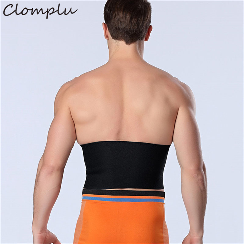 Clomplu New Shpaer Trainers Male Abdominal Binder for Man Neoprene Weight Loss Slimming Belt Men 39 s Adbomen Modeling Strap 93cm in Shapers from Underwear amp Sleepwears