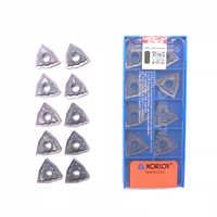WNMG080404 WNMG080408 HA PC9030 Inserti Originale di 100% di Alta Qualità Tornitura Esterna Strumento Inserto In Metallo Duro Per Acciaio Inox