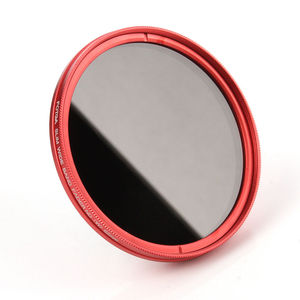 Image 5 - FOTGA 58mm ND Filters Camera Slim Fader ND(W) Red Ring Filter Variable Adjustable ND2 ND8 to ND400