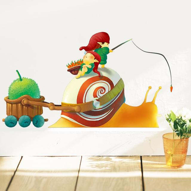 Nome Little Elf and Snail Wall Sticker