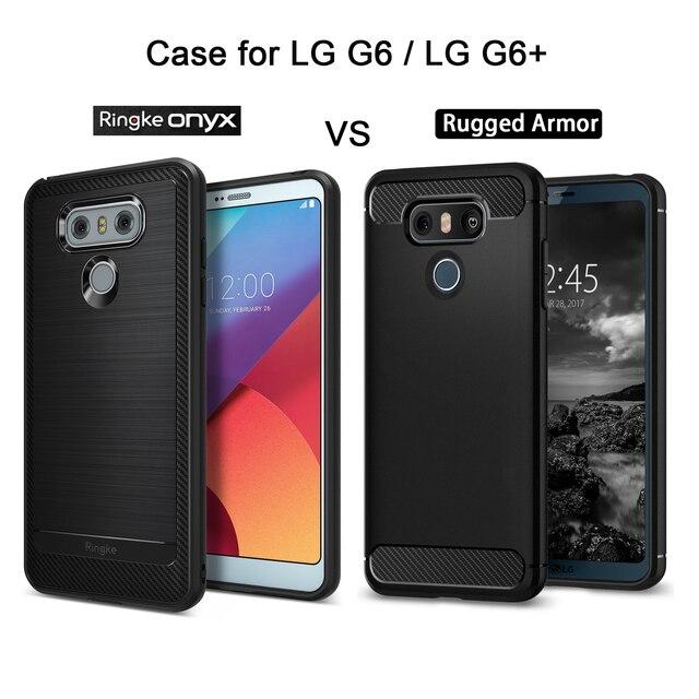 in stock ffed9 2c4ff Original Ringke LG G6 G6 Plus Case Ringke Onyx Rugged Armor Carbon ...