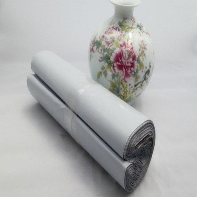 도매 화이트 50*70 cm 대형 셀프 인감 메일 링 폴 리 메일러 가방 플라스틱 봉투 택배 파괴적인 우편 메일 링 가방-에서선물가방&포장용품부터 홈 & 가든 의  그룹 2