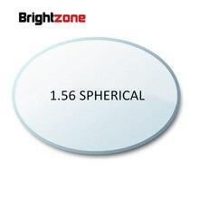 Filling prescription 1.56 HC AR Green coating CR-39 resin lenses eyeglasses prescription lenses for myopia/hyperopia/presbyopia
