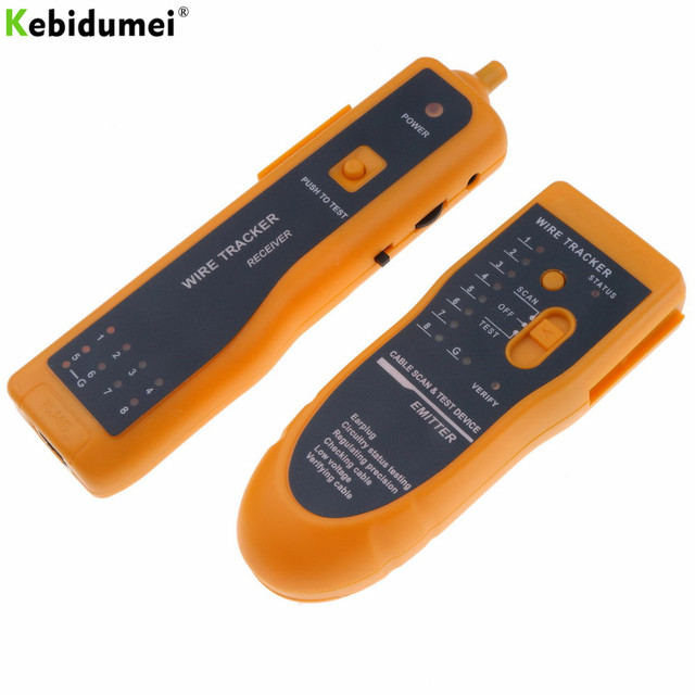 Super Kebidumei Detector Line Finder Rj11 Rj45 Cat5 Cat6 Telephone Wire Wiring Digital Resources Sapredefiancerspsorg