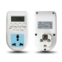 High Quality 24 Hours Timer 220V 240V 50 60Hz 2000W Digital Time Switch Timer With UK