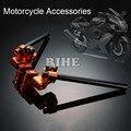 Motorcycle Adjustable Steering Handle Bar handlebar grip clip ons set for yamaha bws125 14-16 tmax500 530 kawasaki z125 15-16
