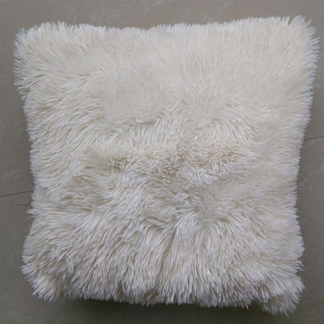 Top Sale Perfect designs Mongolian Faux Fur Pillow Cover Cushion ...