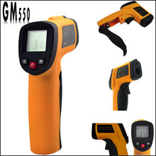 Cheapest prices Hot Sale 3Pcs/Lot Wholesale Non-Contact Digital Temperature Infrared Thermometer with Laser -50~550 degree