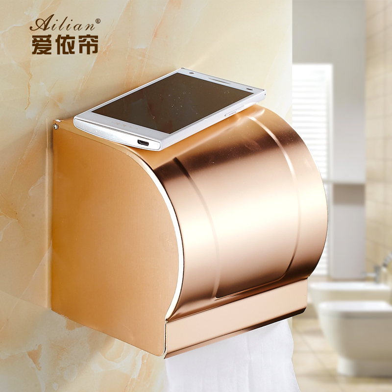Buckingham Palace rose gold bathroom toilet paper roll control box European  Space aluminum towel rack retroOnline Get Cheap Paper Box Gold Toilet  Aliexpress com   Alibaba Group. 24k Gold Toilet Paper. Home Design Ideas