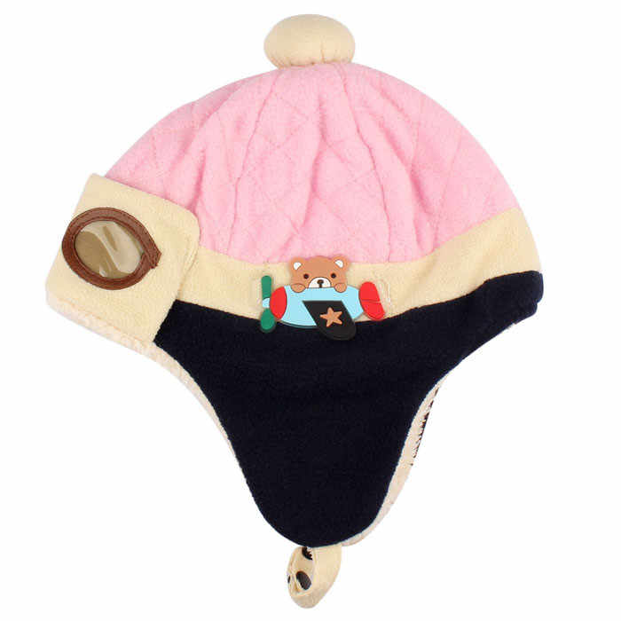 6737239287e ... 10 to 48 Months Baby Winter Hat 4 Colors Toddlers Cool Baby Boy Girl  Infant Winter ...