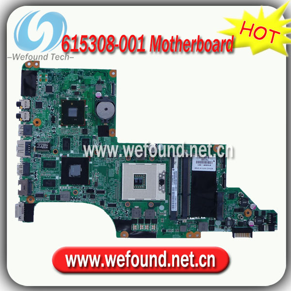 615308-001,Laptop Motherboard for HP DV7-4000 Series Mainboard,System Board