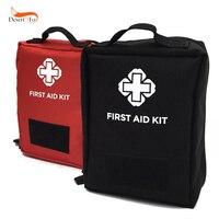 2 Color Al Aire Libre kit de Viaje de Primeros Auxilios Mini bolsa Hogar Pequeño cuadro Médico botiquín de Primeros auxilios Bolsa de Supervivencia de Emergencia