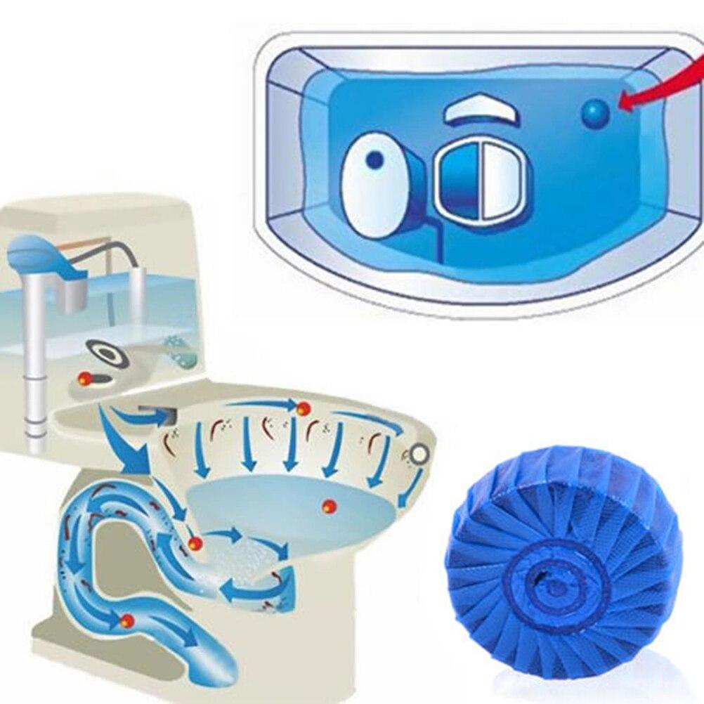 1 шт. дезодорант твердый синий пузырь унитаз чище ...