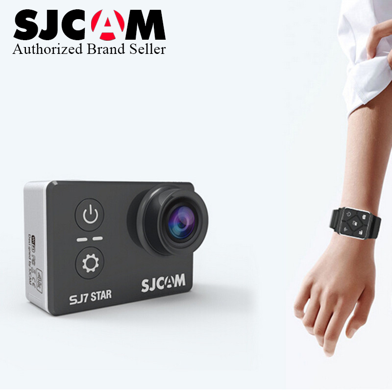 In Stock SJCAM SJ7 Star WiFi 4K 30FPS 2' Touch Screen Remote Action Helmet Sport Camera Ambarella A12S75 Chip Waterproof Car DVR