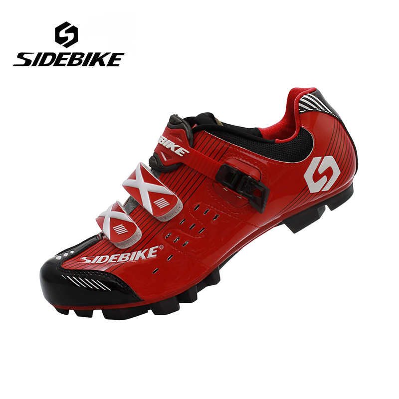 Sidebike Professional Men Breathable MTB Mountain Bike Racing Athletic Shoes Outdoor Sports Self Lock Bicycle Cycling Shoes scoyco motorcycle riding knee protector extreme sports knee pads bycle cycling bike racing tactal skate protective ear