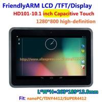 FriendlyARM HD101, 10.1 인치 터치 스크린 용량 터치, 고화질,