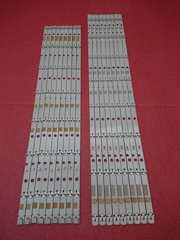 New 18 PCS set LED backlight strip for TOSHIBA 55L7453D SVT550AA0 REV04 L R Type 130710